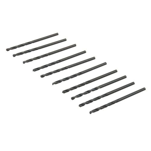 Silverline 186809 Metric HSS-R Roll Forged Jobber Bits 10 Pack 2.5mm